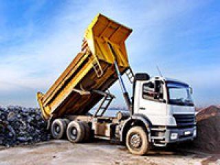Hydraulics on Dump Truck